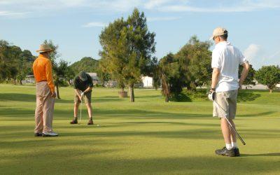 Få et afbræk fra hverdagen med golf-vennerne